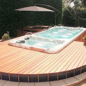Swim Spa with Decking
