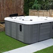 Grey Hot Tub Solent Pools